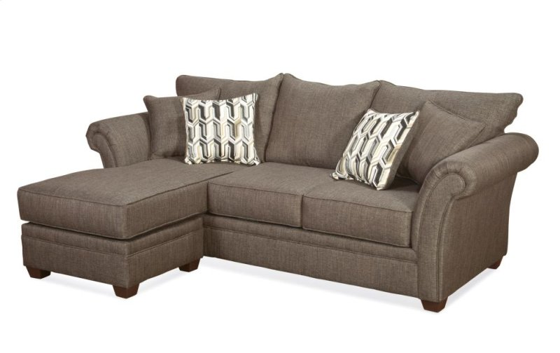 5125sch in by hughes furniture in albany ny 5125 sofa for Albany sahara sectional sofa chaise