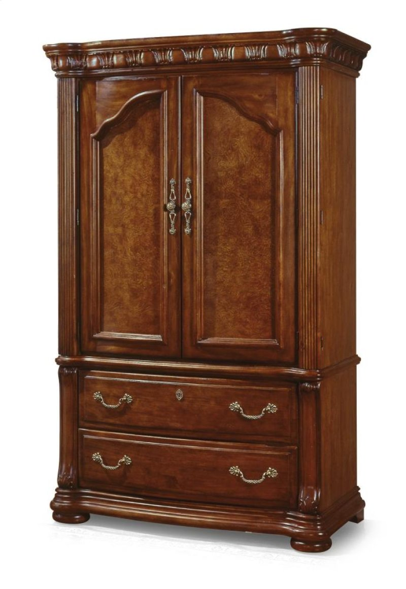 Used Stearns And Foster Mattresses W1635877 in by Flexsteel in Claflin, KS - Cordoba Armoire