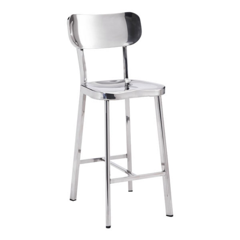 Winter Counter Chair Stainless Steel