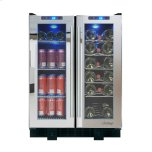 VinotempVinotemp VT-36 Touch Screen Mirrored Wine & Beverage Cooler