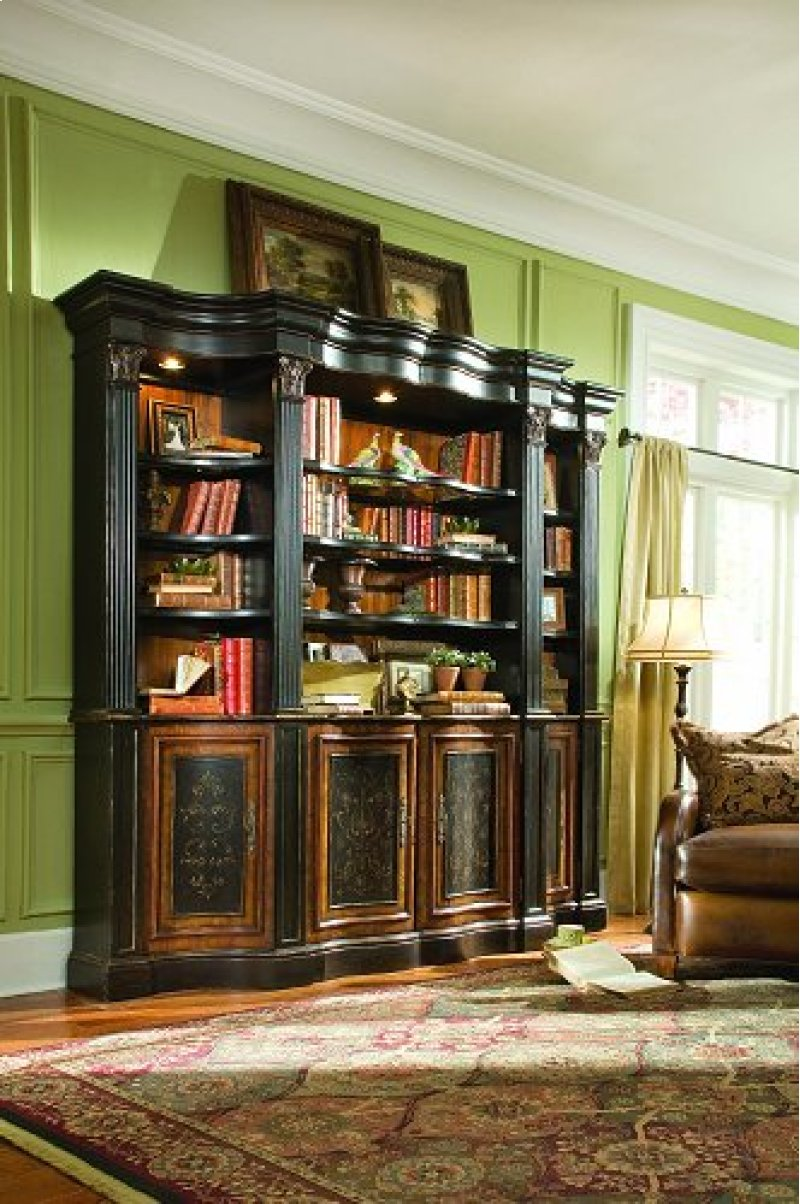 Shaped Bookcase - Top Only  - Midway Home Solutions