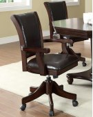 In Stock Set of 4 Swivel Game Chairs Product Image