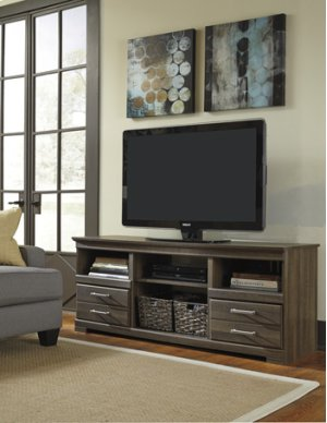 W12968 In By Ashley Furniture In Bloomington Il Lg Tv Stand W Fireplace Option