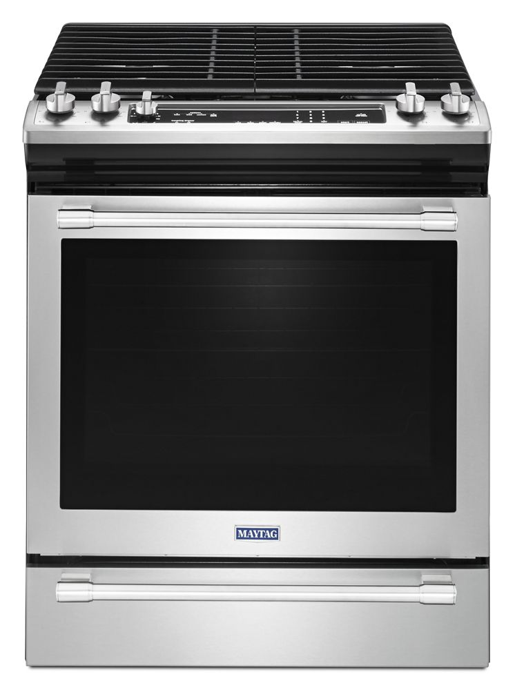 30-INCH WIDE SLIDE-IN GAS RANGE WITH TRUE CONVECTION AND FIT SYSTEM - 5.8 CU. FT.  Fingerprint Resistant Stainless Steel
