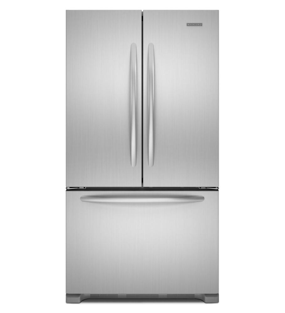 Kfcs22evbl kitchenaid 22 cu ft counter depth french door refrigerator architect r series - Kitchenaid architect counter depth refrigerator ...