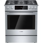 BoschBENCHMARK SERIES�1 Full-Extension Telescopic Rack  �European Convection� with Additional Element  �Self-Clean Oven  �	Star K Certified (100°F - 450°F)  �	Variable Broil