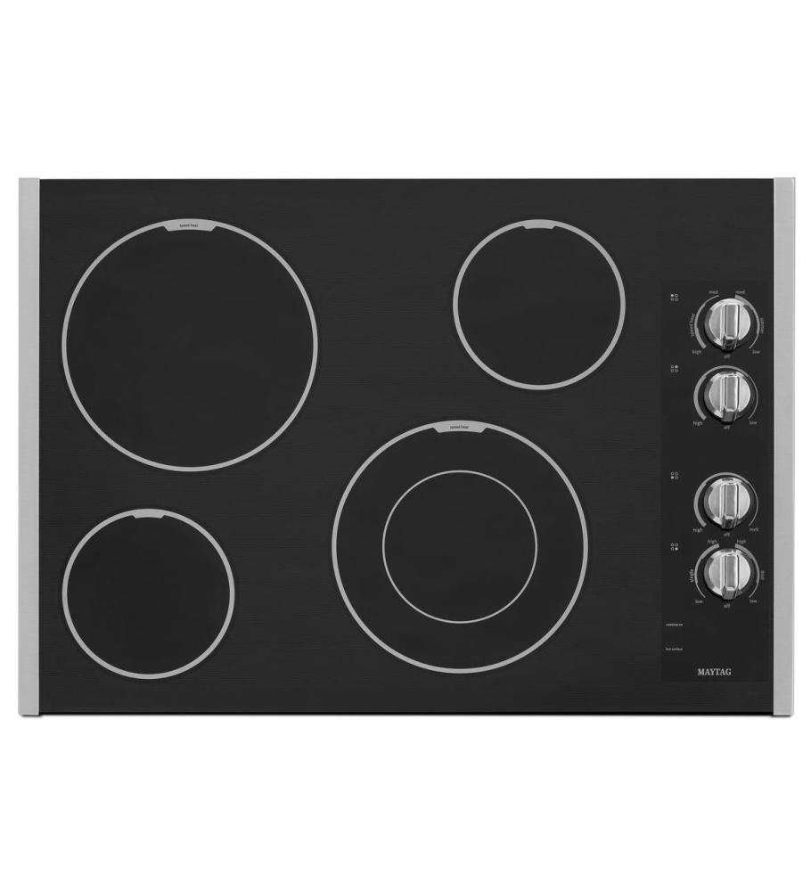 Discount Electric Cooktops ~ Mec bs maytag inch electric cooktop with speed