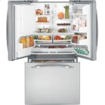 GE Profile(TM) Series ENERGY STAR(R) 20.9 Cu. Ft. French-Door Bottom-Freezer Refrigerator