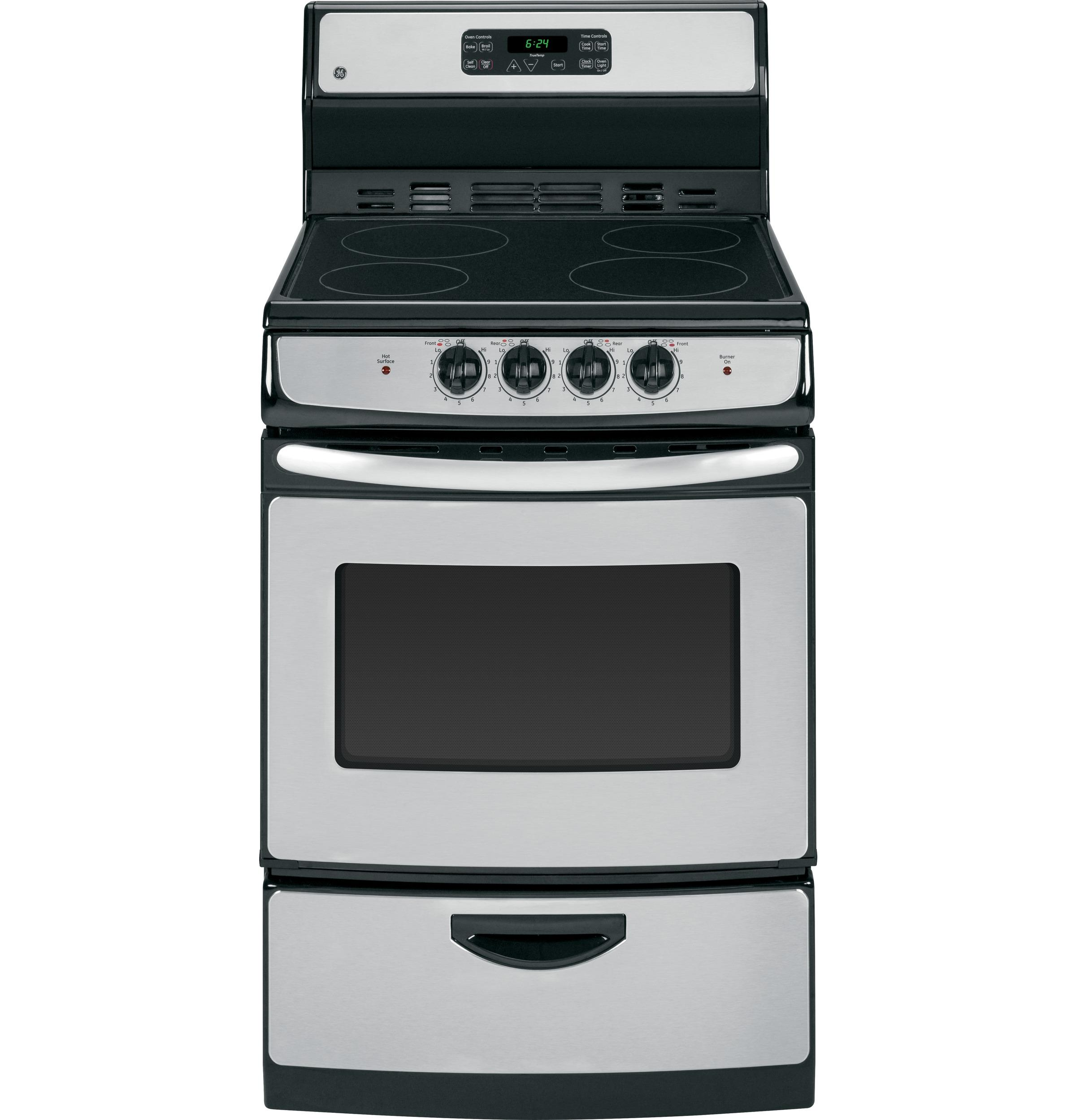 "GE(R) 24"" Self Clean Free-Standing Electric Range
