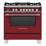 Fisher PaykelFisher Paykel 36&quot Convection Dual Fuel Range
