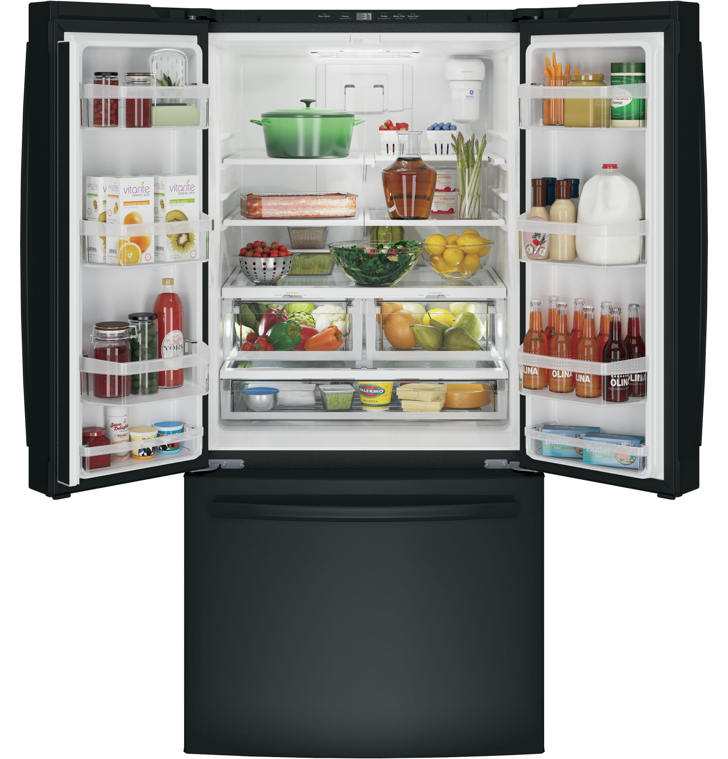 GE(R) ENERGY STAR(R) 24.8 Cu. Ft. French-Door Refrigerator