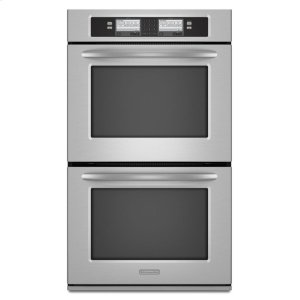 KEBU208SSS&nbspKitchenaid&nbspStainless Steel KitchenAid(R) 30-Inch Steam-Assist Double Oven, Architect(R) Series II