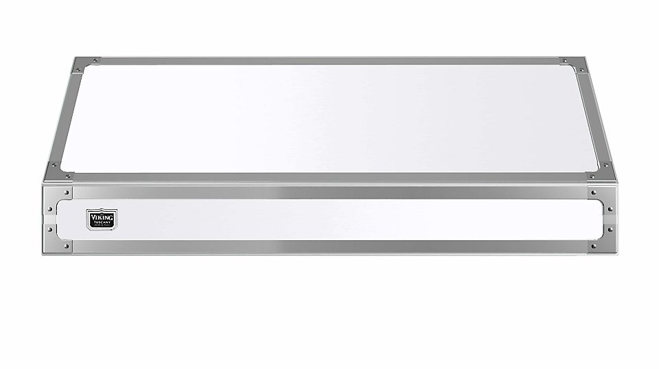 """48"""" Wide 18"""" High Tuscany Wall Hood  Antique White"""
