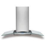 "Electrolux ICON42"" Glass Canopy Island Hood"