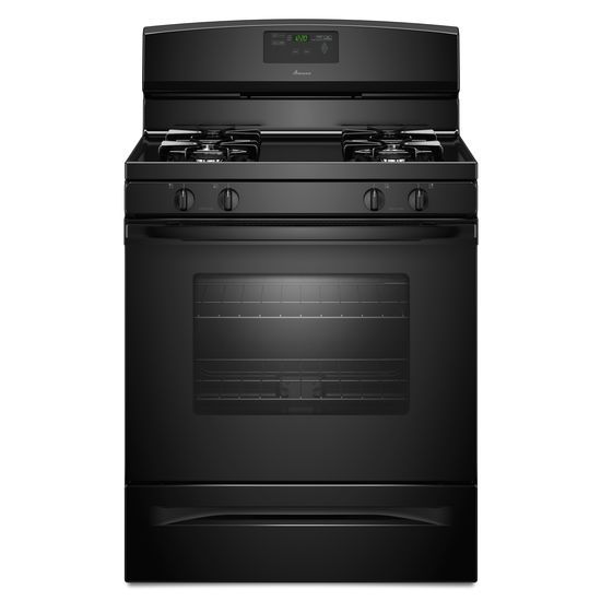 Amana 5.0 Cu. Ft. Gas Oven Range With Easy