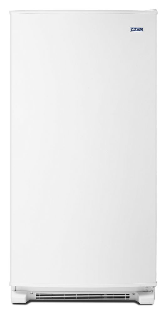 18 cu. ft. Frost Free Upright Freezer with LED Lighting  White
