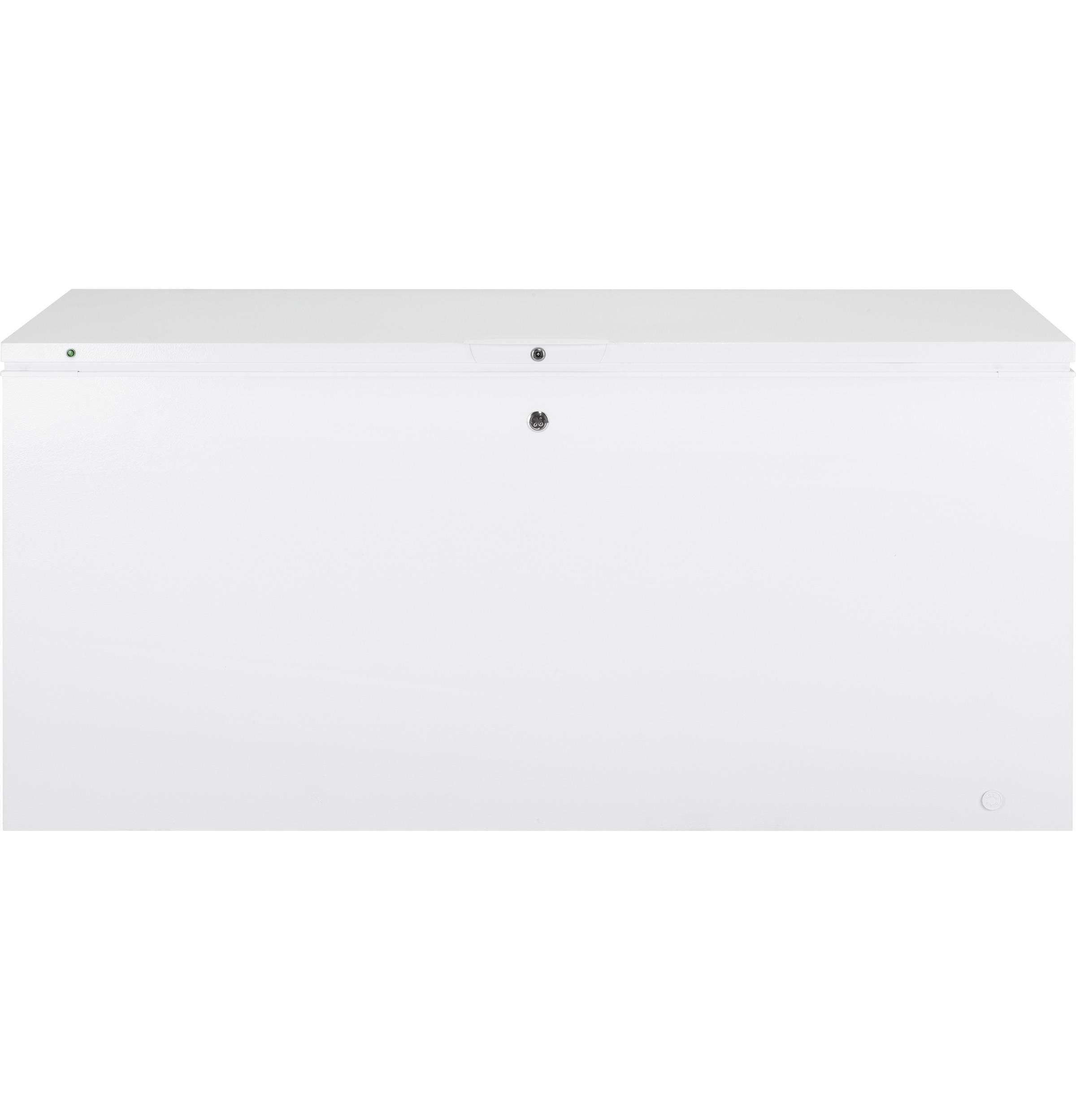 GE(R) 21.6 Cu. Ft. Manual Defrost Chest Freezer
