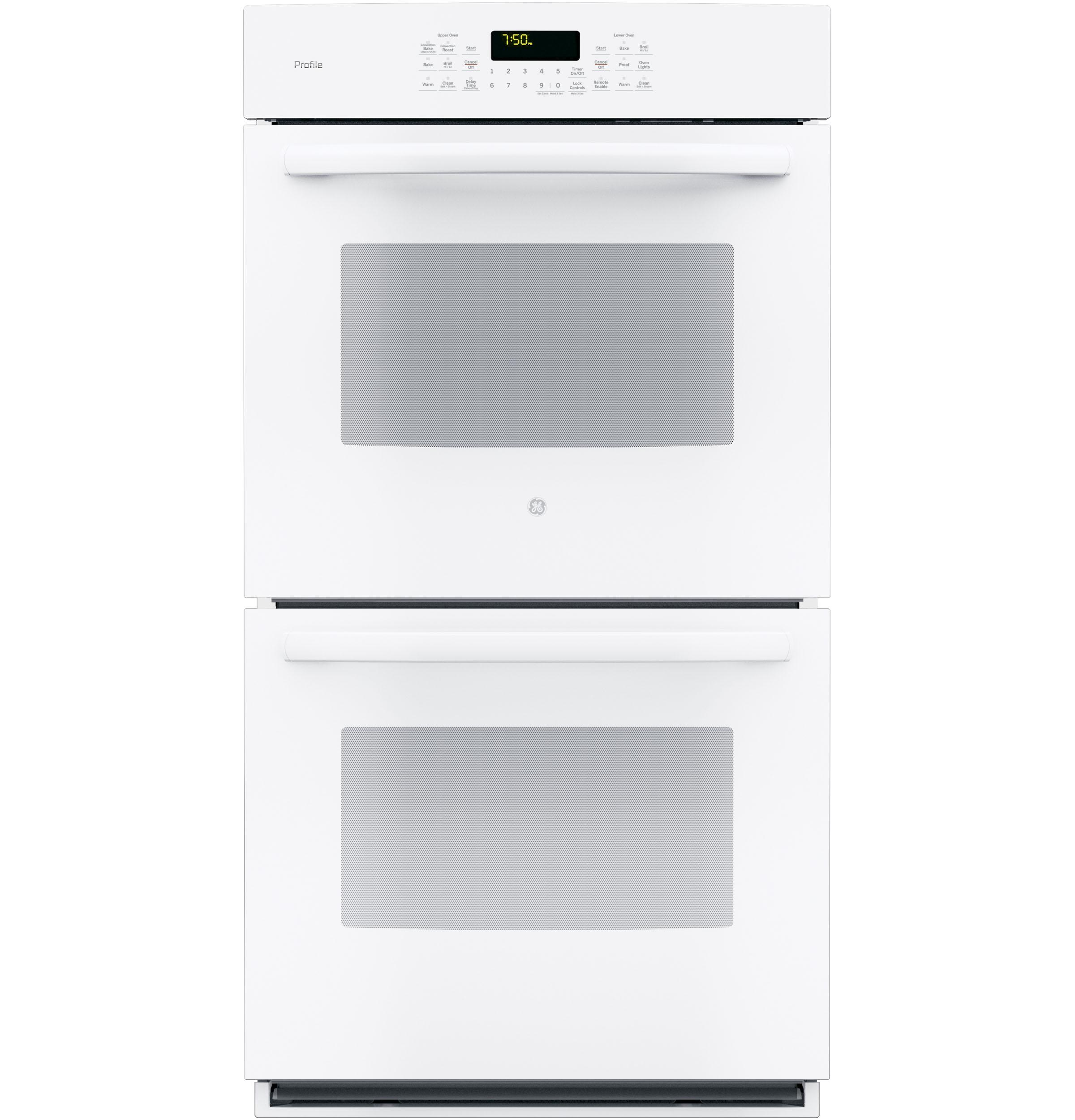 "GE Profile(TM) Series 27"" Built-In Double Convection Wall Oven