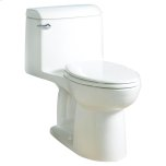 American StandardChampion 4 Elongated One-Piece Toilet 1.6 GPF with Toilet Seat - White