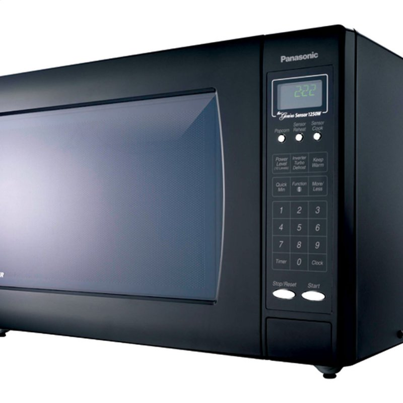 Countertop Microwave With Vent : ... Countertop Microwave Oven with Inverter Technology - Black - NN-H965BF
