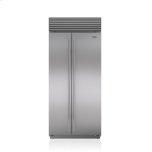 Sub ZeroSub Zero 36&quot Classic Side-by-Side Refrigerator/Freezer