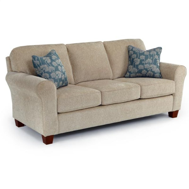 Best home furnishings in wichita ks annabel coll0 stationary sofa