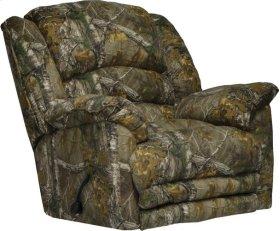 In Stock Chaise Rocker Rec w/Heat & Massage in Duck Dynasty Camo Fabric