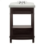 American StandardPortsmouth 24 Inch Washstand - Dark Chocolate