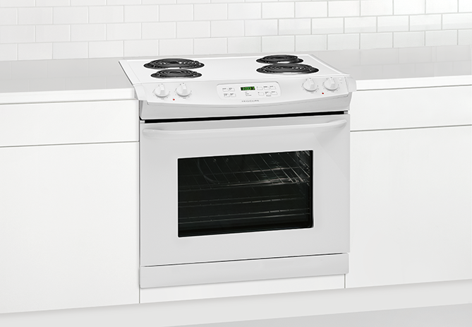 Drop In Cooktops Electric ~ Ffed pw frigidaire  drop in electric