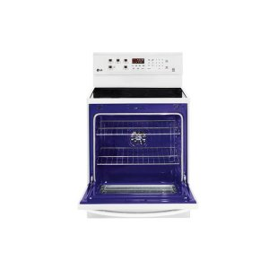 LRE3083SW&nbspLG&nbsp6.3 cu. ft. Capacity Electric Single Oven Range with True Convection and EasyClean(R)