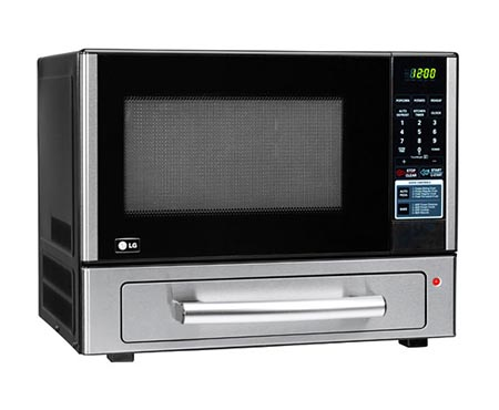 LCSP1110ST LG 1.1 cu. ft. Countertop Microwave Oven with Baking Oven ...