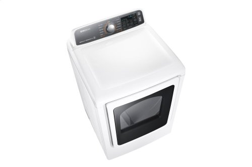 DV48J7770EW Electric Front-Load Dryer, 7.4 cu.ft