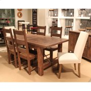 CLEARANCE Autumn Falls 7 Pc  Dining Group (All Side Chairs, no parson chairs) Product Image