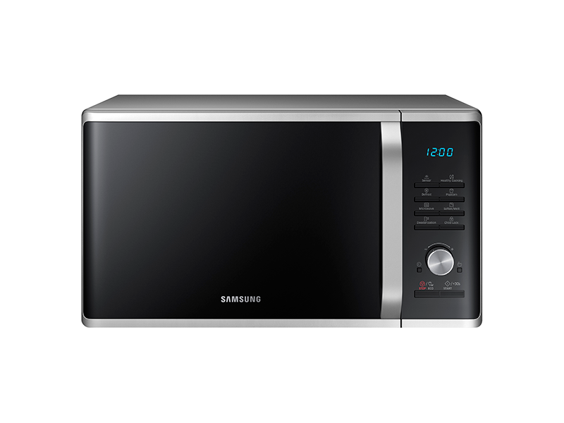 Samsung Countertop Microwave Home Depot : MS11K3000AS Samsung 1.1 cu. ft. Counter Top Microwave