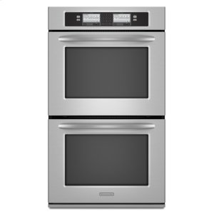Stainless Steel Kitchenaid(r) 30-Inch Steam-Assist Double Oven, Architect(r) Series Ii