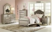Clearance Item--Sterling 3/3 Upholstered Bed