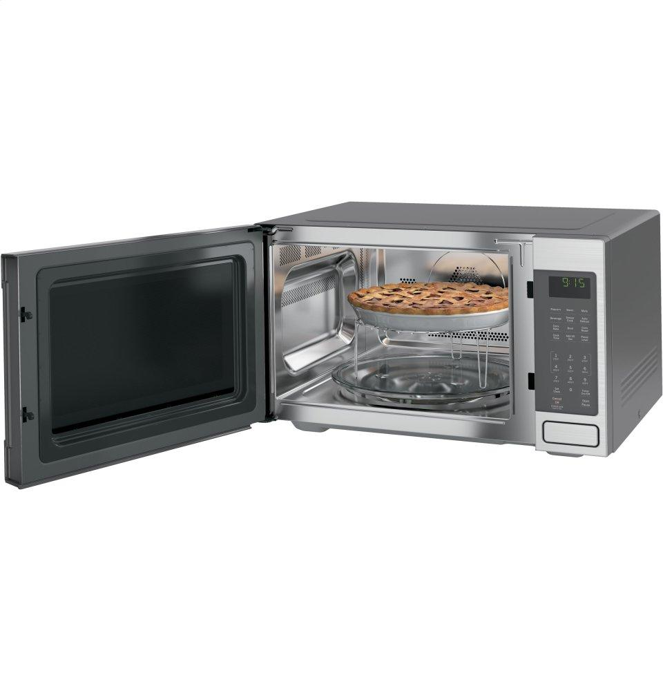 Countertop Convection Oven With Microwave : ... GE Profile Series 1.5 Cu. Ft. Countertop Convection/Microwave Oven