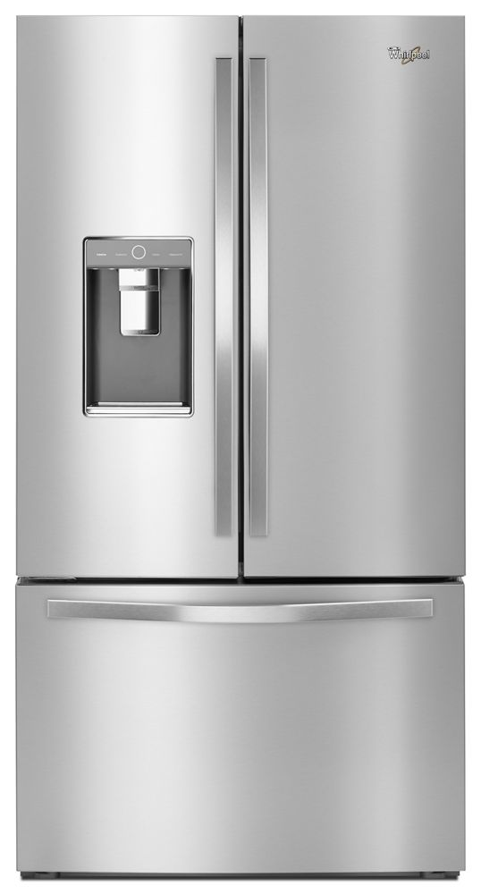 36-inch Wide French Door Refrigerator with Infinity Slide Shelf - 32 cu. ft.  Monochromatic Stainless Steel