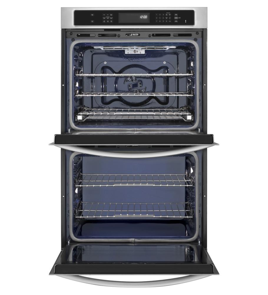 Kitchenaid Ovens Double Wall Ovens Stainless Steel Kebs207bss