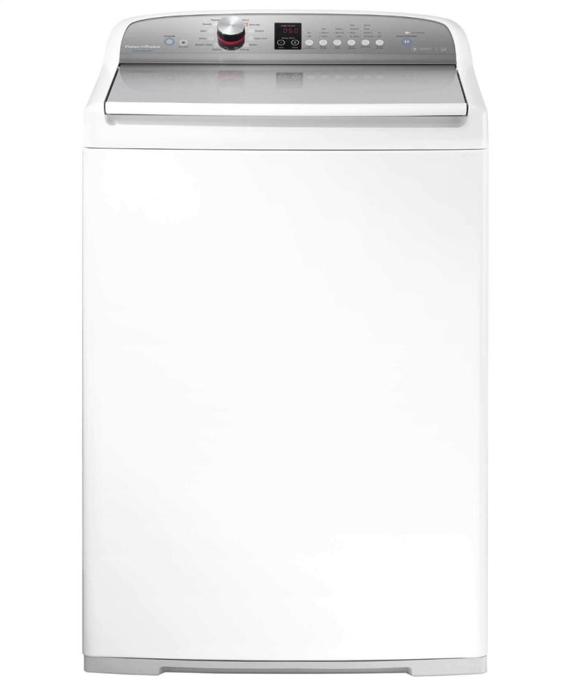 4 cu ft AquaSmart High Efficiency Top Load Washer with SmartTouch Dial  White