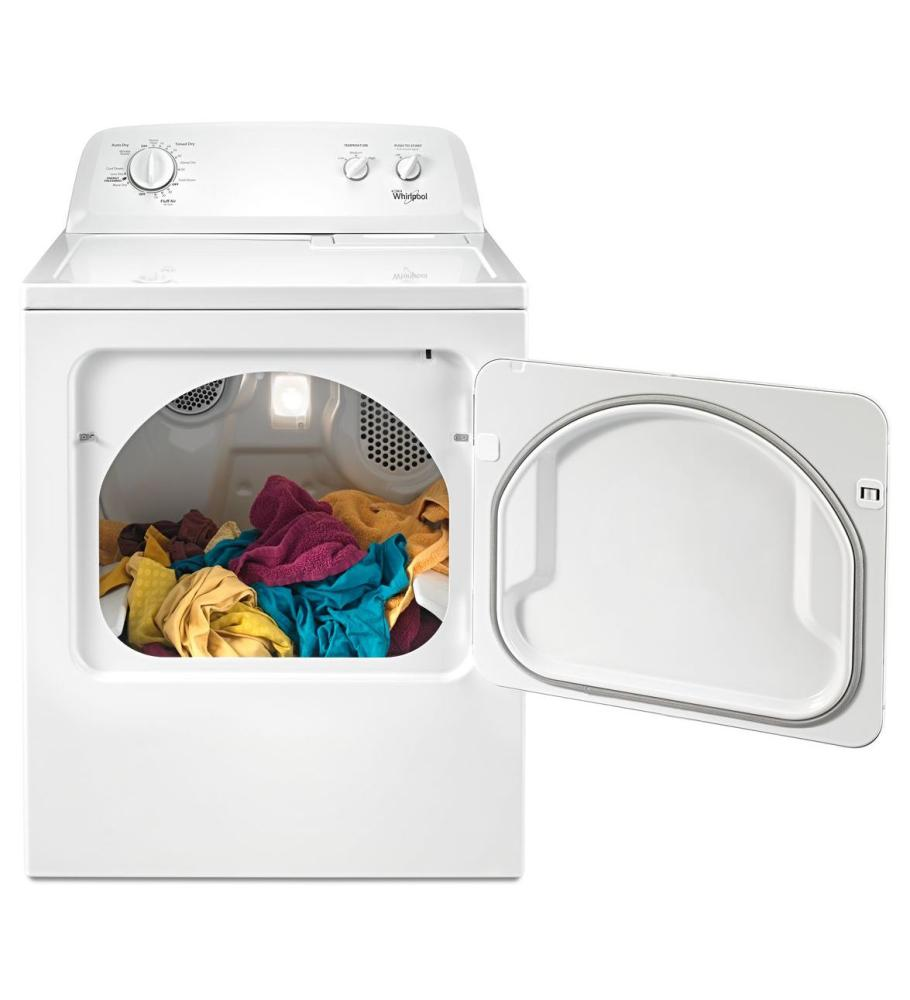 Whirlpool Dryers Electric Front Load White WED4616FW