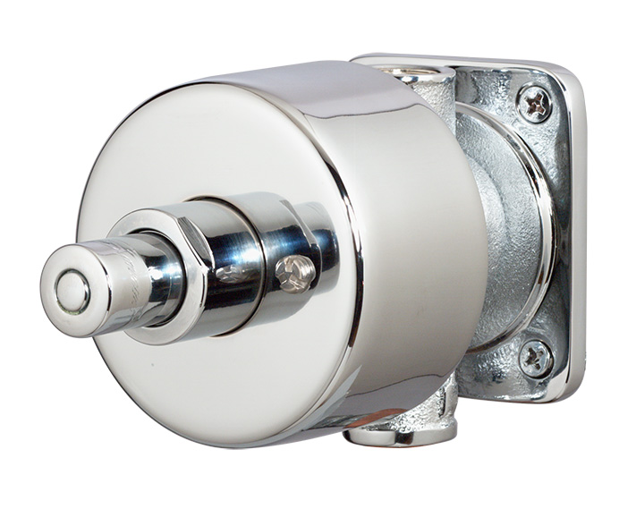 symmons showeroff exposed metering shower valve and trim polished chrome hidden