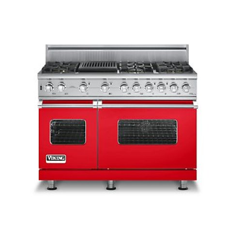 6 burner gas range