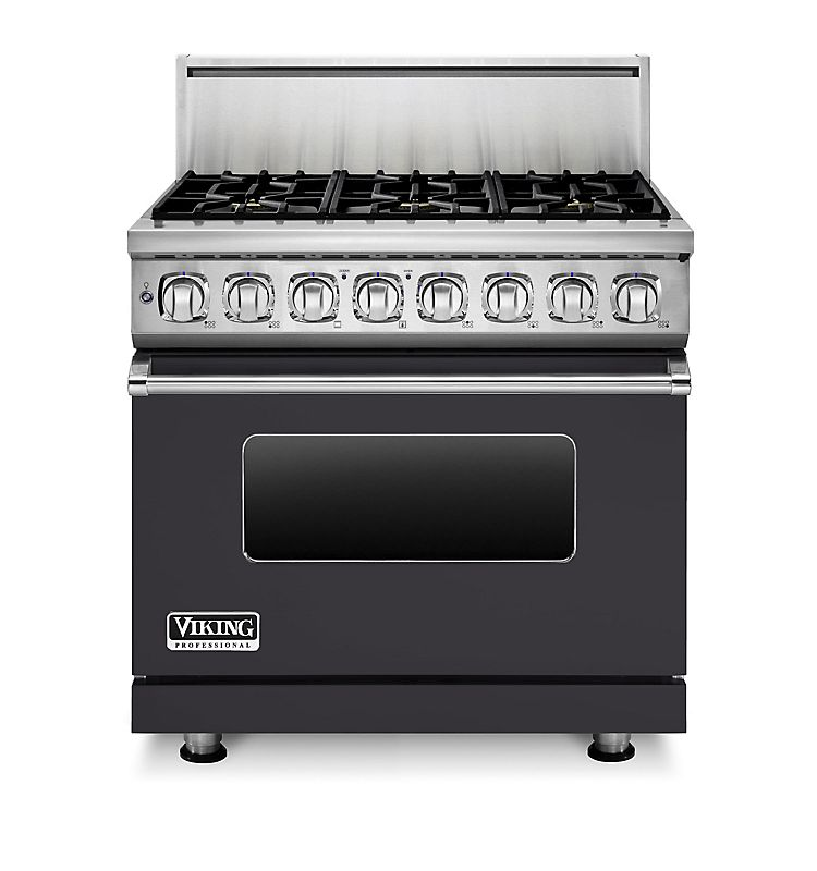 "36"" Dual Fuel Range, Propane Gas