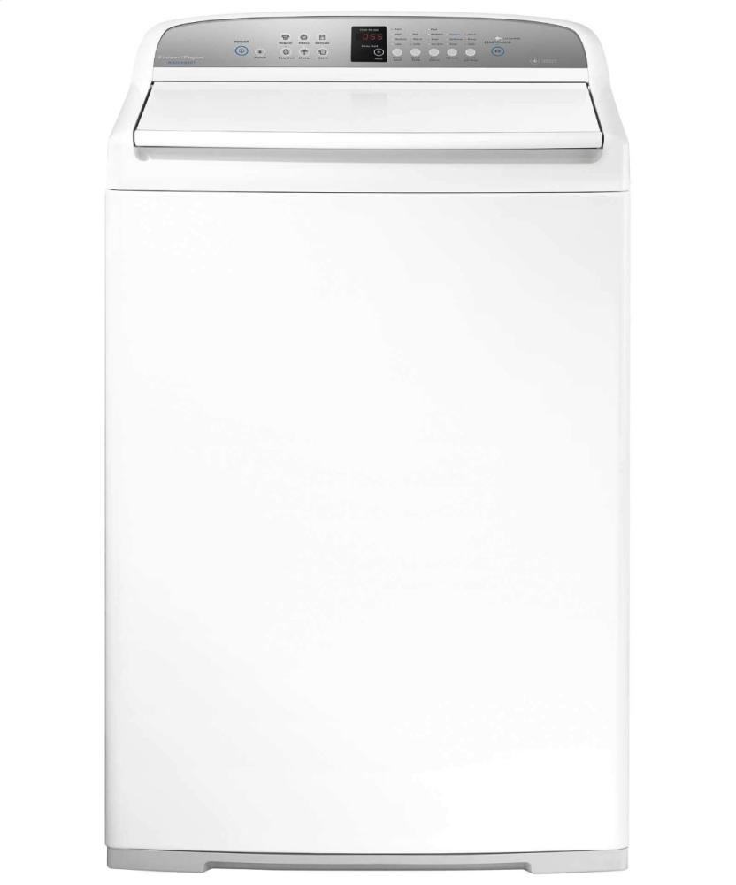 3.9 cu ft WashSmart Top Load Washer with Flexible finned Agitator  White