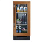 True ManufacturingTrue Manufacturing 15 Inch Overlay Glass Door Undercounter Refrigerator - Left Hinge Overlay Glass