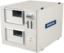Light commercial High Efficiency Heat Recovery Ventilator, 690 CFM at 0.4 in. w.g.