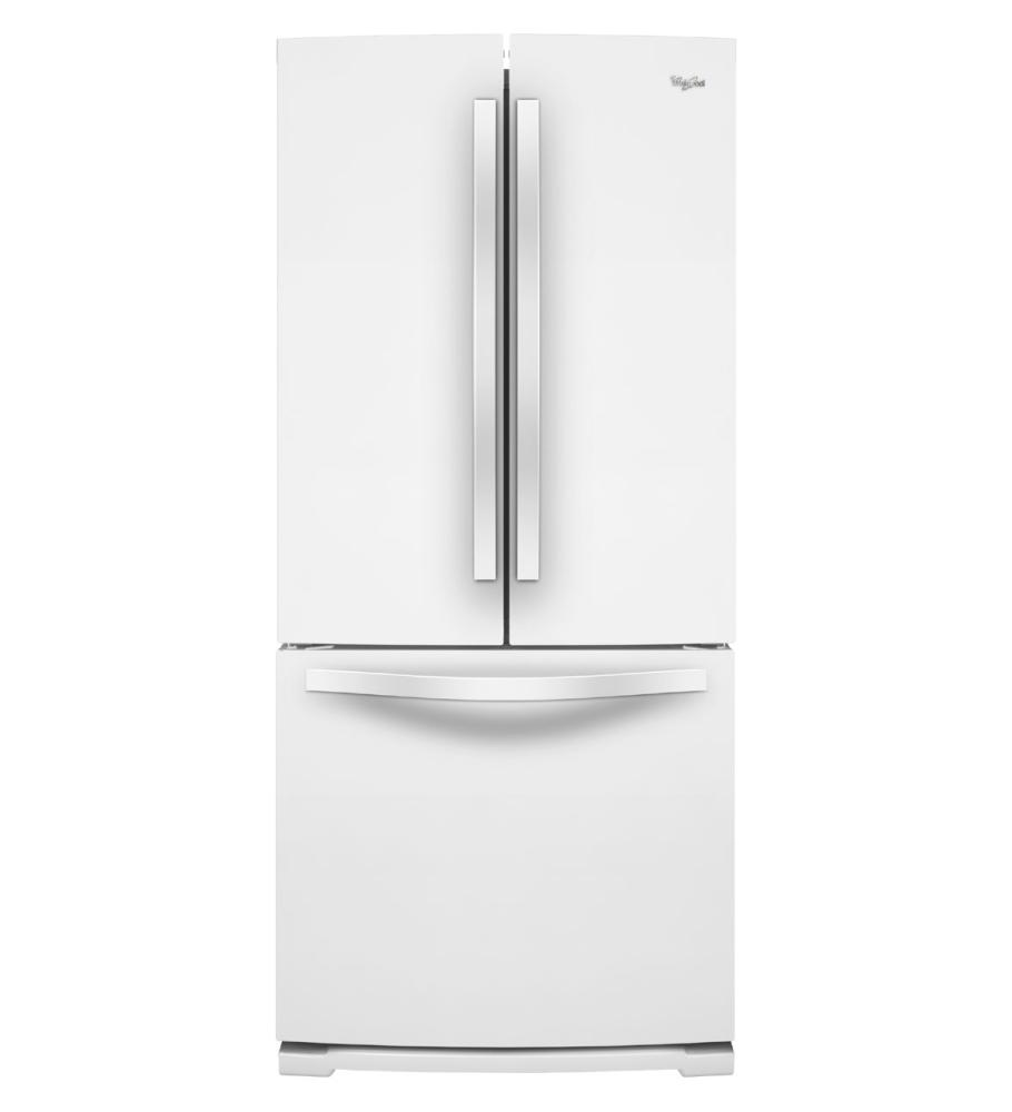 Whirlpool french door refrigerators french door for 19 6 cu ft french door refrigerator