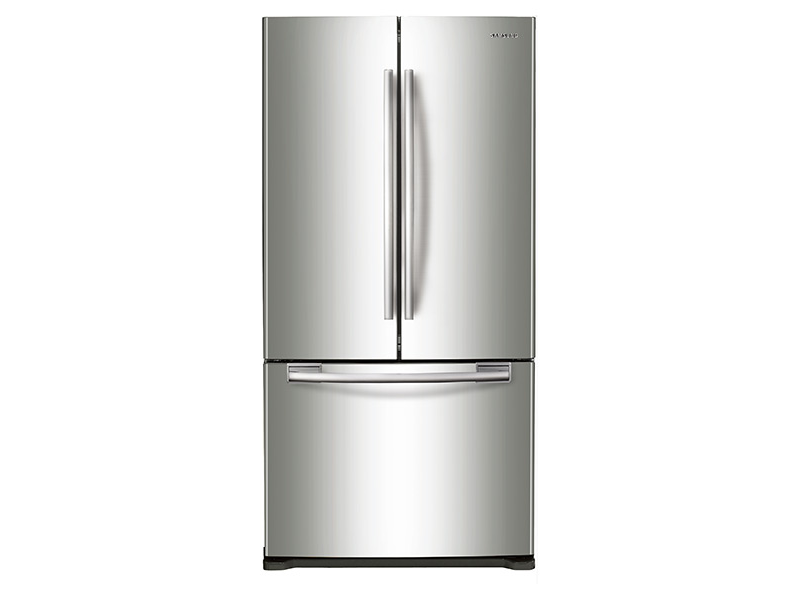 Rf18hfenbsr samsung 33 17 5 cu ft counter depth for 18 cubic foot french door refrigerator