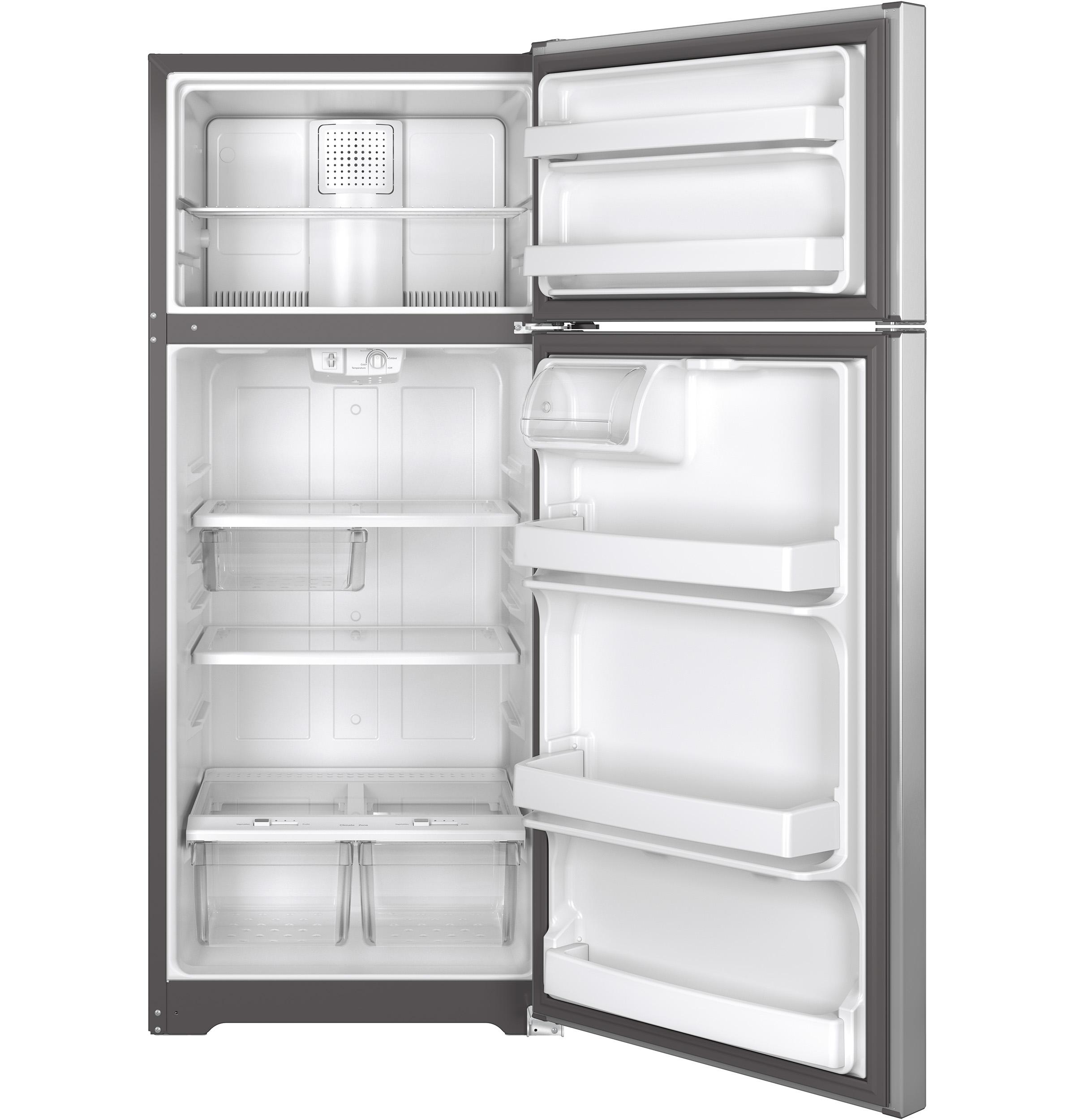 GE(R) ENERGY STAR(R) 17.5 Cu. Ft. Top-Freezer Refrigerator
